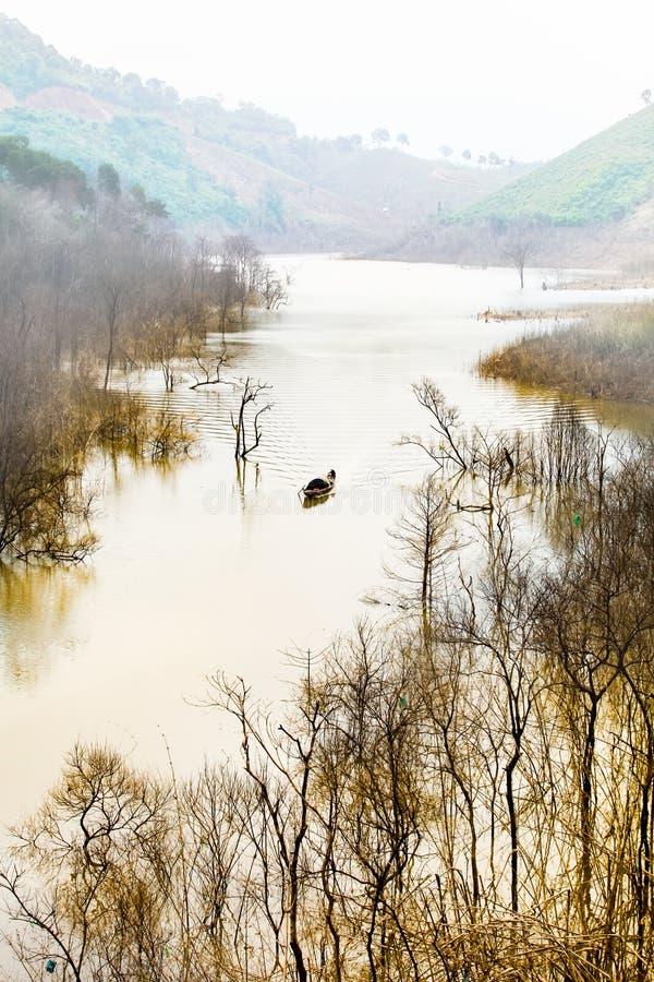 Nam kar lake royalty free stock image