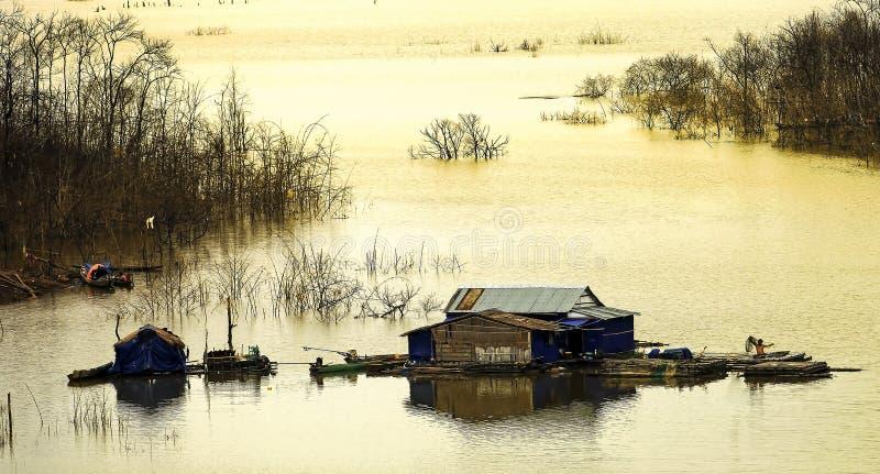 Nam kar Lake royalty free stock images