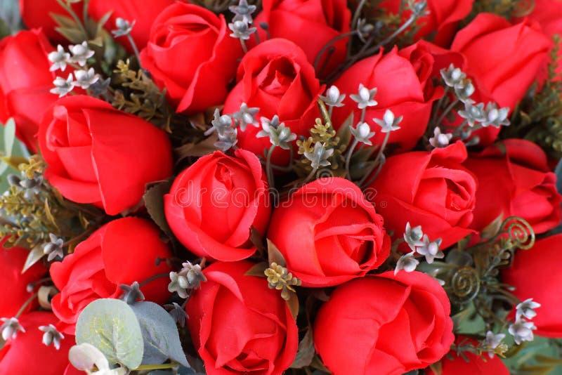 Nam kunstbloem toe als valentijnskaartachtergrond stock afbeeldingen