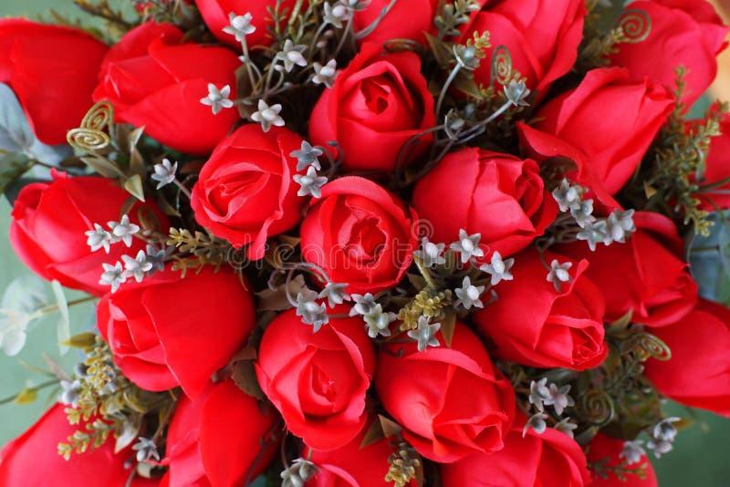 Nam kunstbloem toe als valentijnskaartachtergrond stock fotografie
