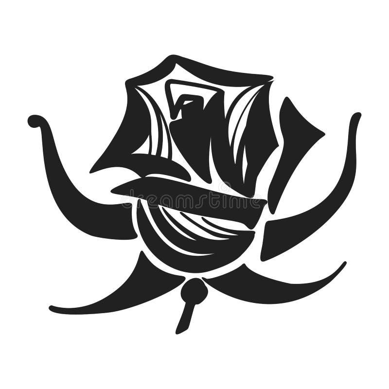 Nam pictogram, eenvoudige stijl toe royalty-vrije illustratie