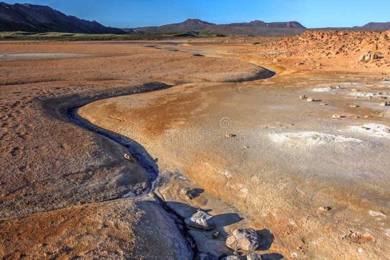 Namaskard landscape, Iceland royalty free stock images
