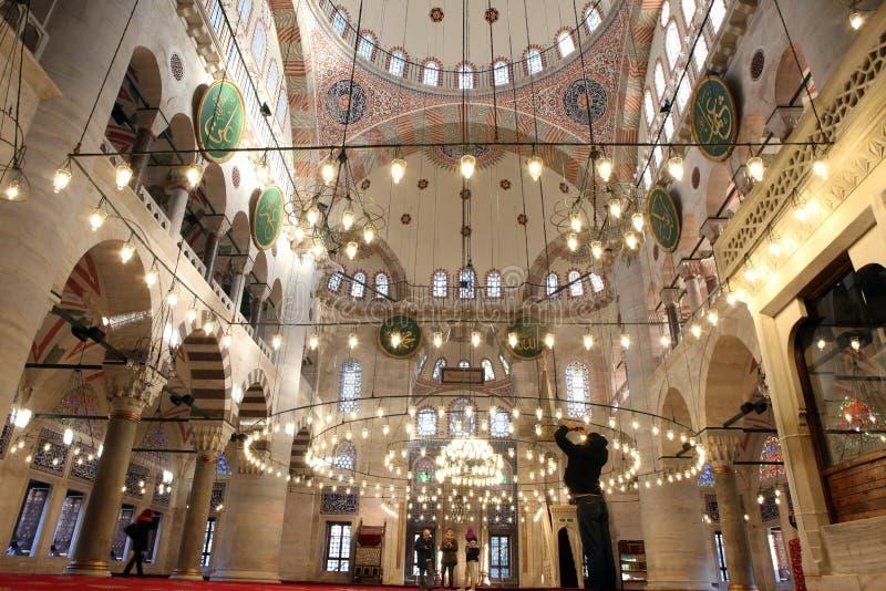 Namaz in moschea fotografia stock