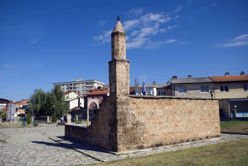 Namazgah清真寺,普里兹伦,科索沃 免版税库存图片