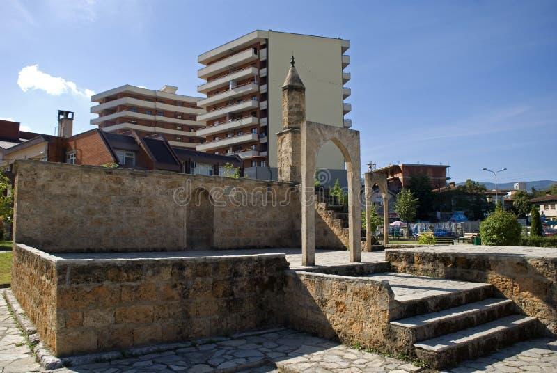 Namazgahmoskee, Prizren, Kosovo royalty-vrije stock fotografie
