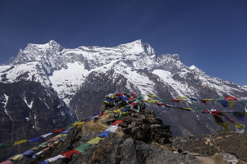 Namche, Nepal royalty free stock images