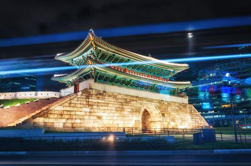 Namdaemun-Tor stockbild