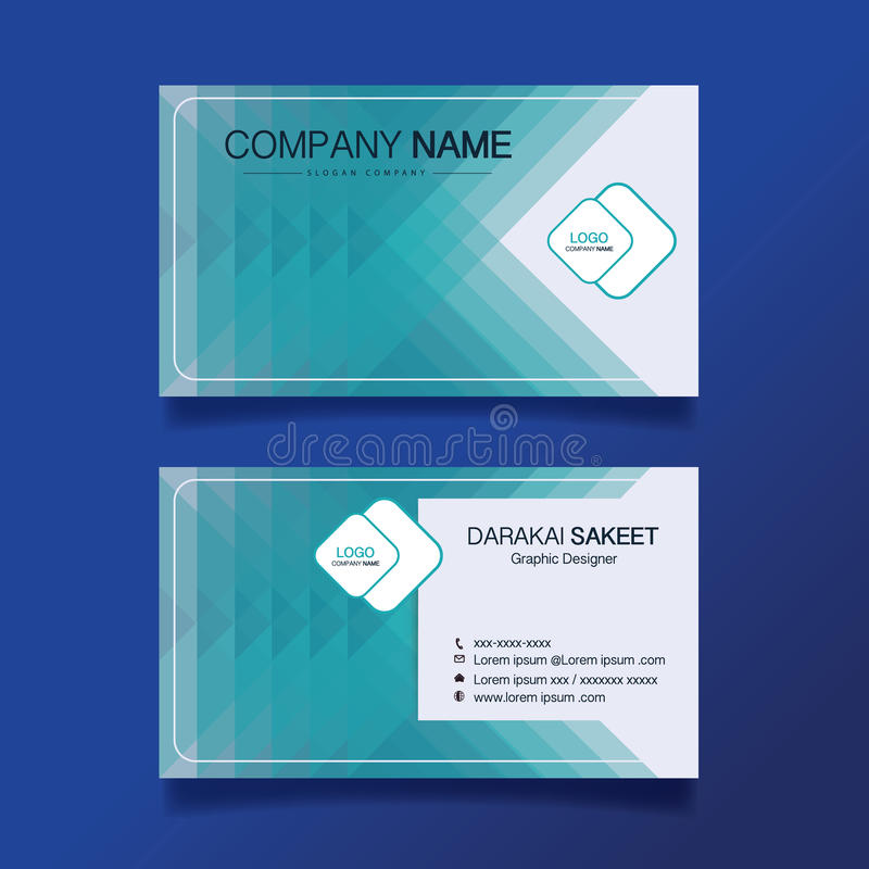 Name Card, Modern Simple Business Card Template. Stock Vector ...