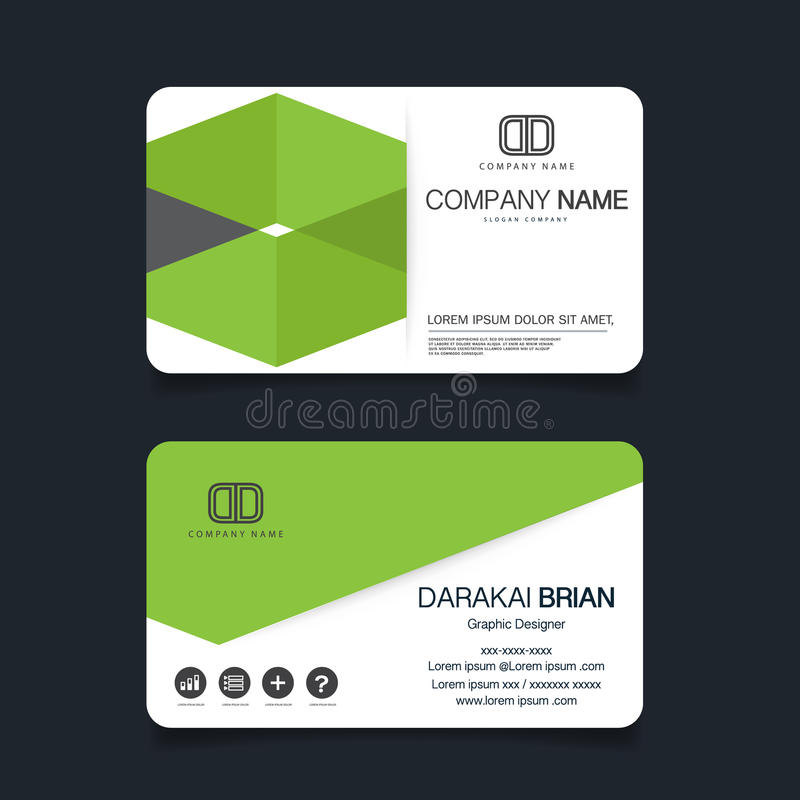 Name card modern simple business card template vector illustration download name card modern simple business card template vector illustration stock vector illustration fbccfo Image collections