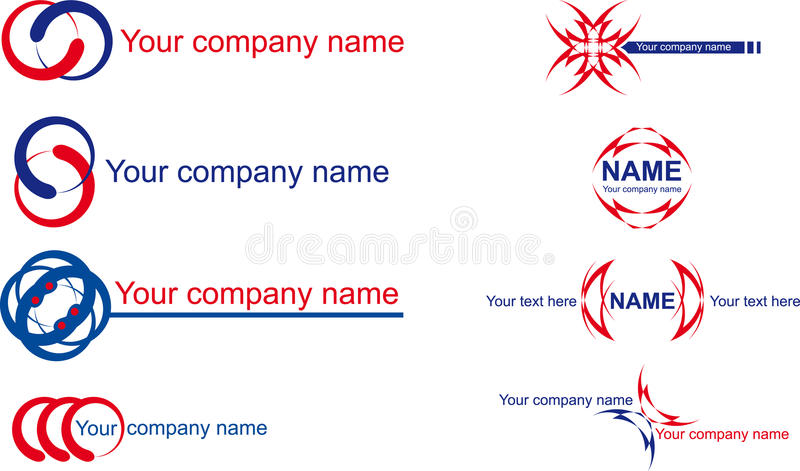 Download Name company stock vector. Image of corporate, logo, ornament - 17437728