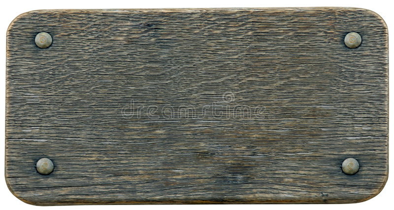 Nameboard sign wood background. Empty wooden name board sign isolated on white texture frame background