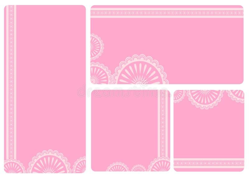 Namecard de la plantilla libre illustration