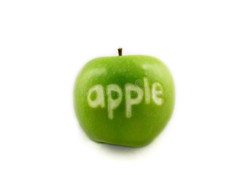 Named Apple royalty free stock photo