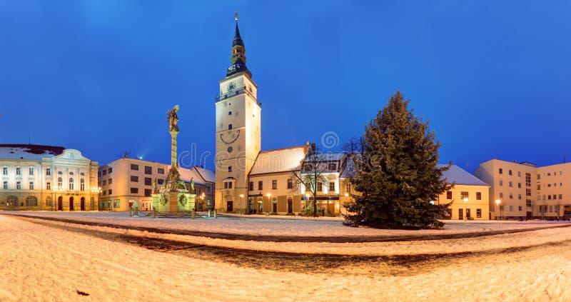 Namestie Trnava - Trojicne, Словакия стоковые изображения rf