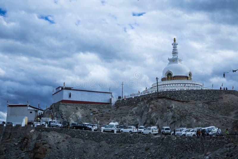 Namgyal Tsemo Gompa, Leh, India royalty free stock image