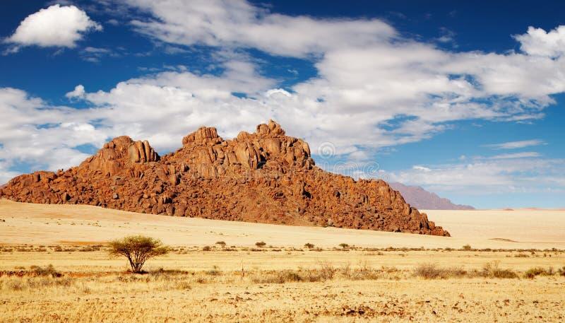 Namib Desert. Rocks of Namib Desert, Namibia royalty free stock photo