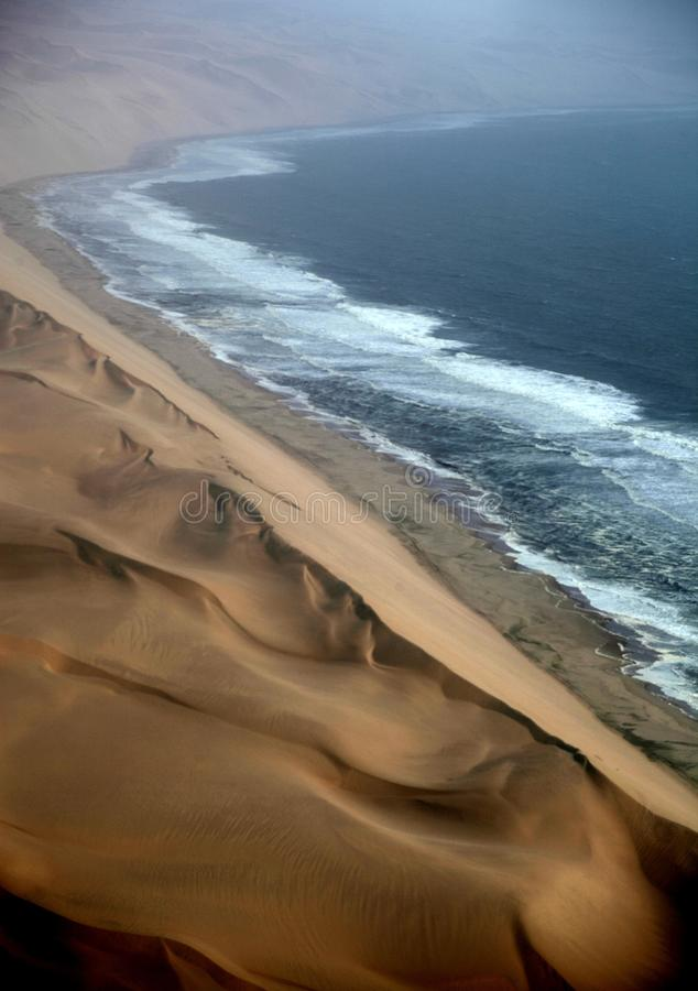 Namibia den Namib öknen arkivfoto