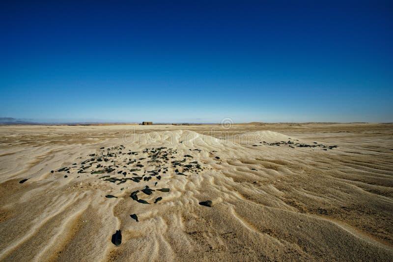 Namibia-Diamantbergwerke - Grillenburger Das Flaschendump lizenzfreie stockfotografie