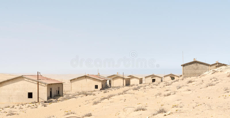NAMIBIA, KOLMANSKOP - SEPTEMBER, 14. 2014: Ghost Town stock photos