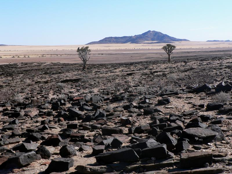 Namibia-Landschaft lizenzfreie stockfotos