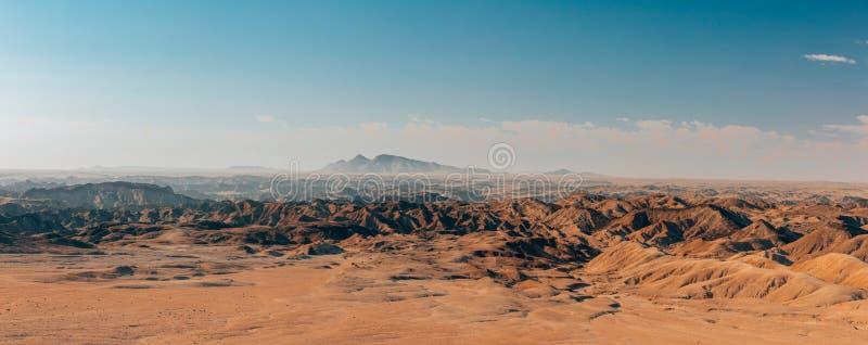 Namibia moonscape Swakopmund, Namibia Afryka zdjęcie royalty free