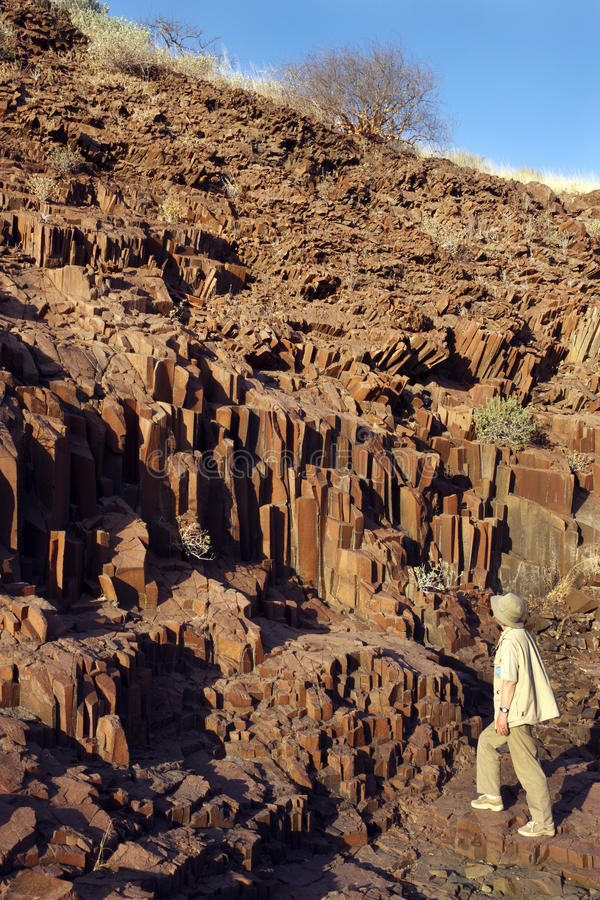 Namibia - Organ Pipes Landmark - Damaraland