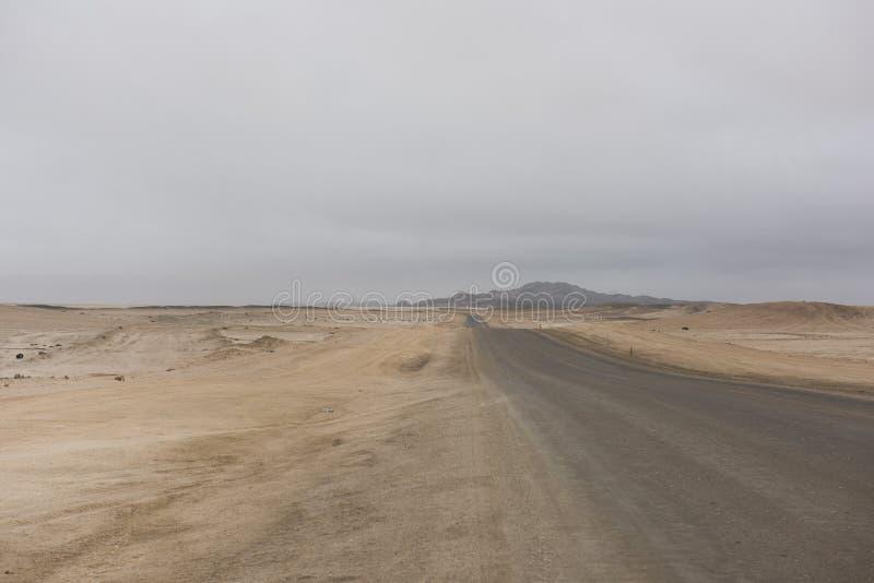 Namibia vägar arkivfoton