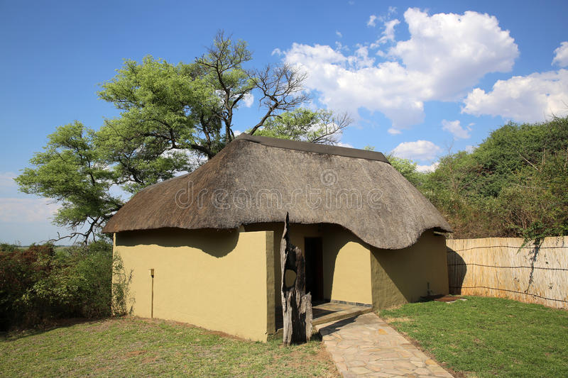 Download Namibian Bungalow stock image. Image of thatched, tourist - 35872425