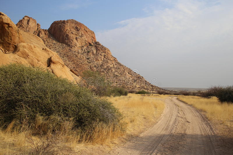 Namibian Landscape. Photo from my recent safari royalty free stock photo