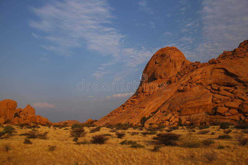 Namibian Landscape. Photo from my recent safari royalty free stock image