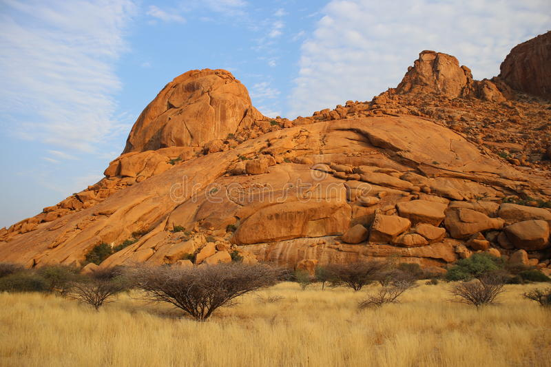 Namibian Landscape. Photo from my recent safari royalty free stock images