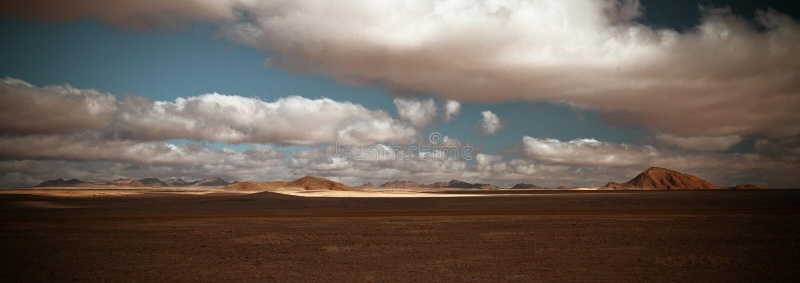 Namibian Woestijn stock fotografie