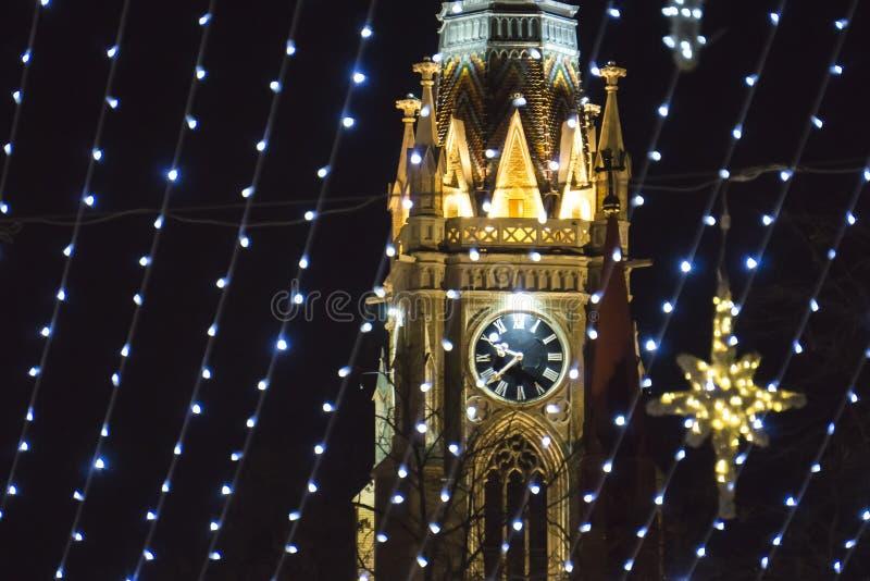 Namn av Mary Church i Novi Sad, Serbien fotografering för bildbyråer