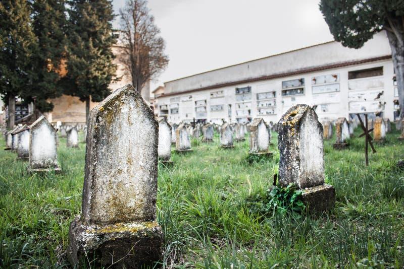 Namnlösa gravar royaltyfri foto