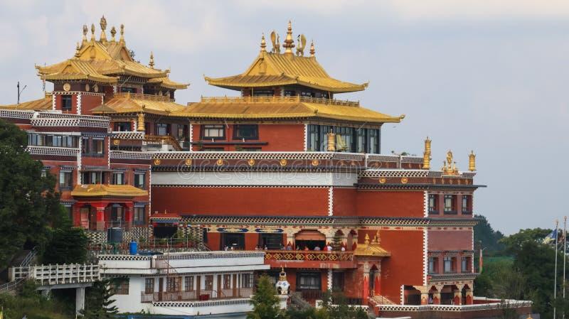 Namo Buddha Monastery i Nepal royaltyfria foton