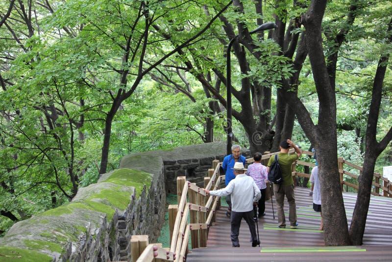 Namsan Séoul, Corée photos libres de droits