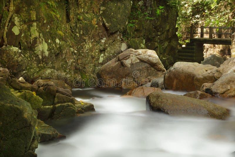 Namtok Phlio stock fotografie