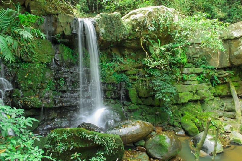Namtok Sapan Sapan Waterfall in Bokuai, Nan,Thailand. stock images