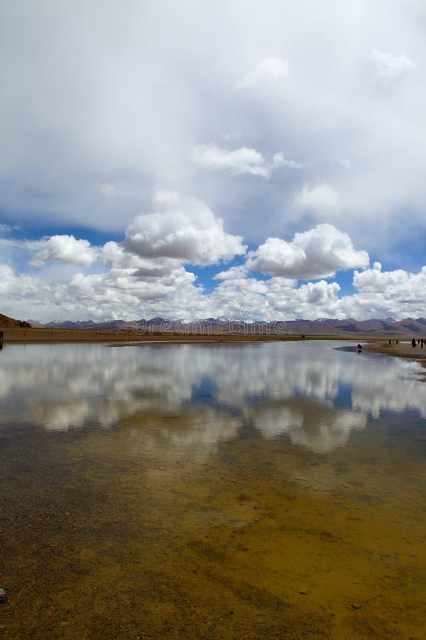Namtso jezioro fotografia stock