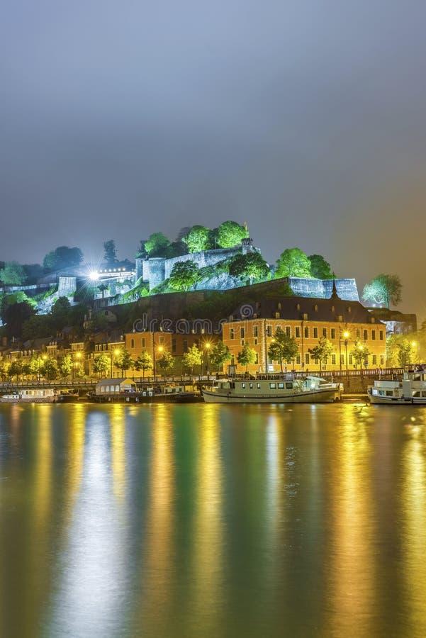 Namur Citadel, Wallonia Region, Belgium stock photo