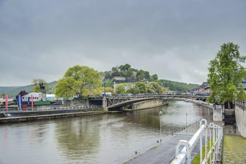 Download Namur Citadel, Wallonia Region, Belgium Stock Image - Image of sambre, historic: 39507803