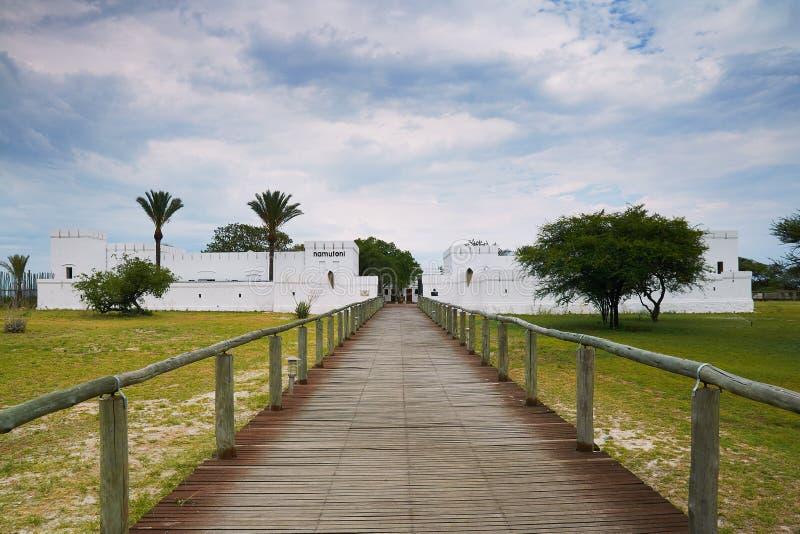 Namutoni Camp in Etosha. Fort Namutoni camp in Etosha National Park, Namibia stock photos