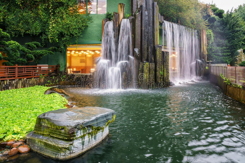 Nan Lian Garden chez Diamond Hill en Hong Kong photo stock