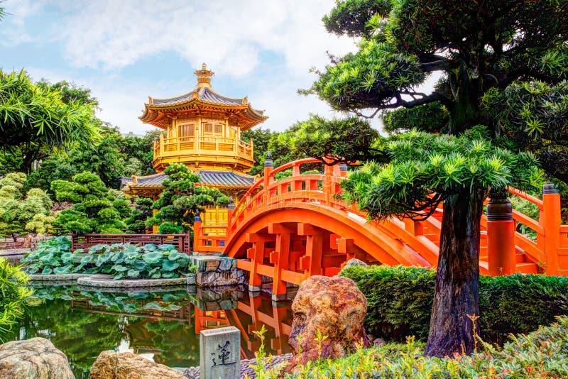 Nan Lian Garden in Diamond Hill, Hong Kong fotografia stock