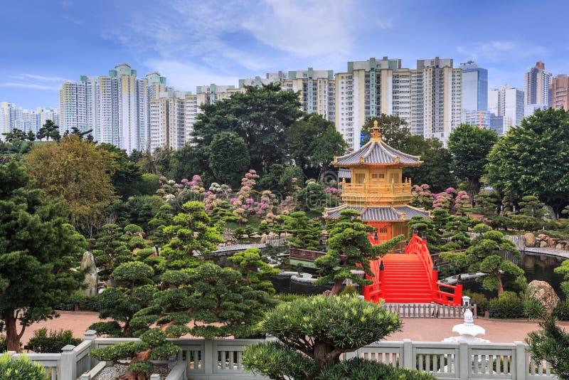 Nan Lian Garden, Hongkong royalty-vrije stock fotografie