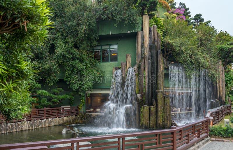 Nan Lian Garden na área de Diamond Hill de Hong Kong fotos de stock