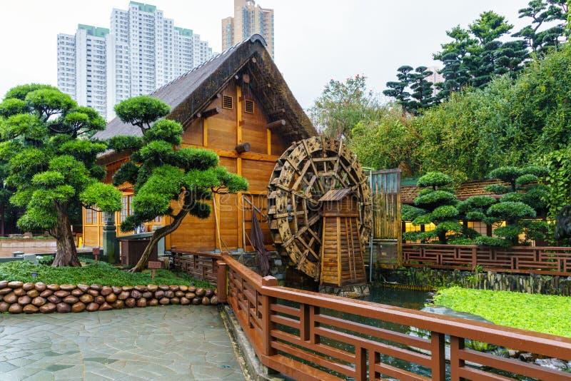 Nan Lian Garden på Diamond Hill i Hong Kong arkivbild