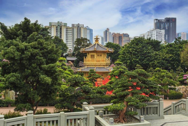 Nan lian Tuin Hong Kong stock fotografie