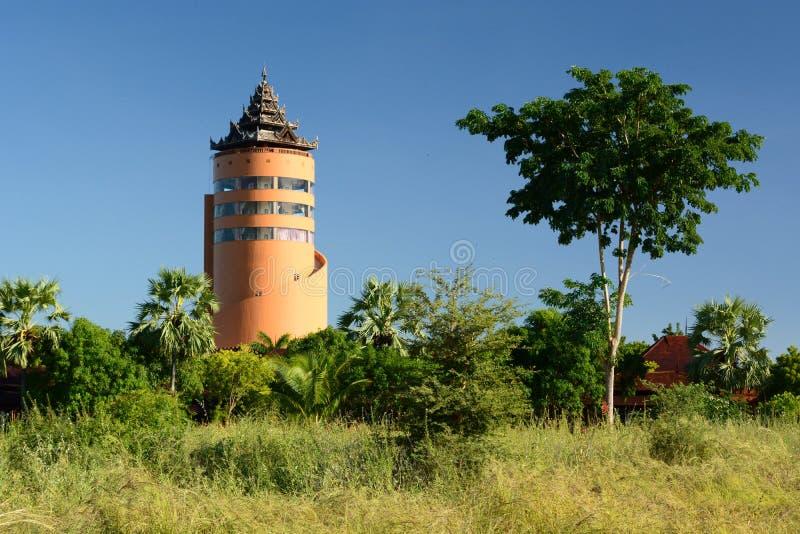Nan Myint torn Bagan myanmar royaltyfri bild