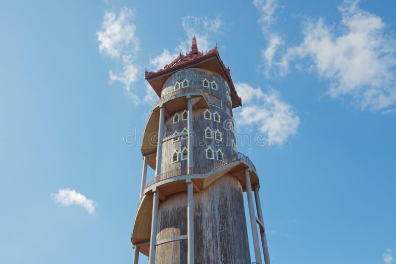 Nan Myint Tower bij Nationale Kandawgyi-Tuinen, Pyin Oo Lwin royalty-vrije stock afbeelding
